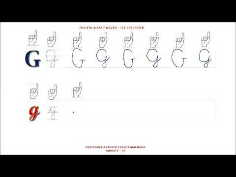 Aula 7 Libras Leitura e escrita do alfabeto Língua Portuguesa