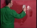 Raffaello Decor Stucco Oikos. Нанесение воска на декоративную штукатурку.