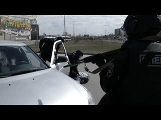 Один день из жизни отряда специального назначения Гром ГУ МВД России по Челябинской области