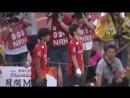 Shoma and Itsuki Uno first kicks Nagoya Grampus Game
