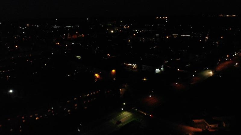 Ночной полет mavic Air