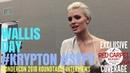 Wallis Day, Nyssa Vexx, talks about SYFYs Krypton at WonderCon Roundtable