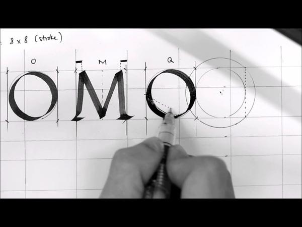 Basic Calligraphy 3 - Foundation Hand Capital Letters - Tri Shiba