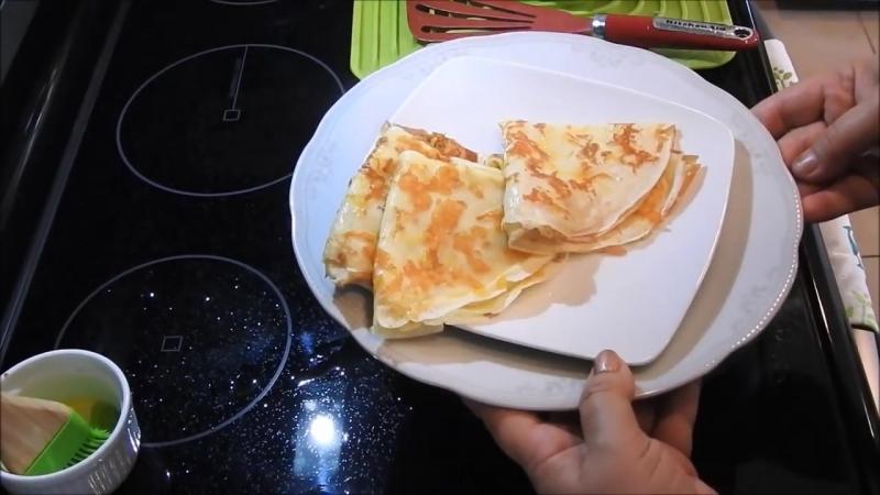 Аппетитне Блинчики к Завтраку! Вы такие точно не готовили! Thin pancakes