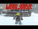 Lego Gear Shadow Moses Island Recreated in Lego Worlds PART 1