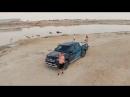 Mercedes Benz X Class на Аральском Море