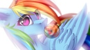 Mlp SpeedPaint-Rainbow Dash[OPEN COLLAB]