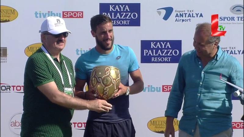 Antalya Open FINAL Mannarino vs Dzumhur (30.06.2018 by LTV)
