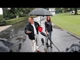 Trump Gets Melania Wet
