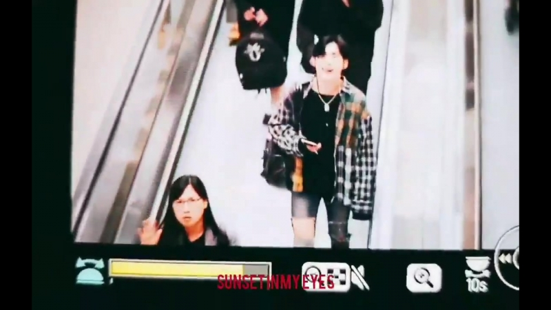 FANCAM | 21.09.18 | A.C.E @ Incheon Airport, departure to Taiwan