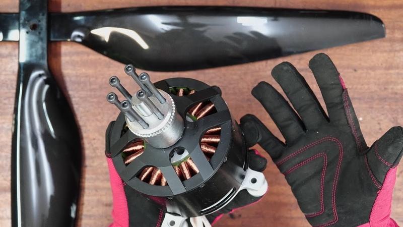 15 киловатт на ладони - супер электромотор