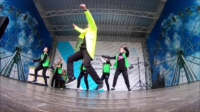 п. 7-ое небо (01.06.2018) - Танец Джексон. Школа танцев S-ART