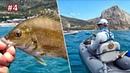 РЫБАЛКА НА КАРАСЯ НА ЧЕРНОМ МОРЕ! 🛶 Морская рыбалка на каяке в Крыму, ловля ставриды и ласкиря.