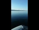 Обкатка лодки с мотором прошла удачно Первый день на воде