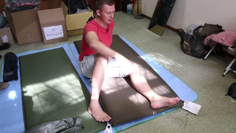 Самонадувающийся коврик Tengu «Mark 3.52M» | 9999руб. ($159)