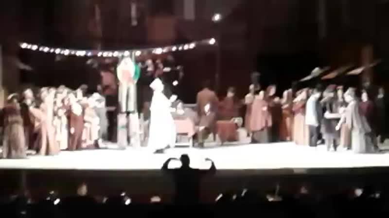 Опера Богема. Гастроли Большого театра в Челябинске, октябрь 2018.