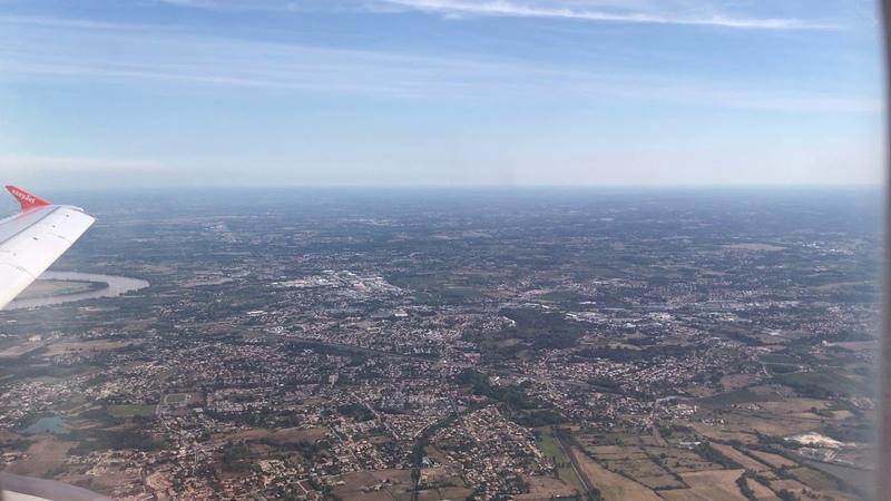 [EASYJET] Landing in Bordeaux-BOD - Airbus A320