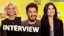 Kristin Chenoweth, Adam Lambert, Idina Menzel Interview | NBC's A VERY WICKED HALLOWEEN [HD]