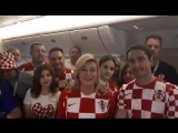 Президент Хорватии благодарит Россию на русском языке