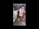 Бабушка круто танцует