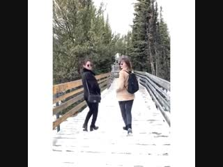Janella and Kathryn Canada Enjoy