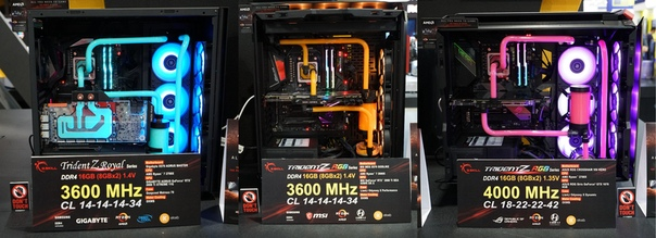 G.Skill представила на Computex набор памяти DDR4-4000
