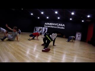 БрейкДанс. Школа танцев ArmenyCasa Белгород