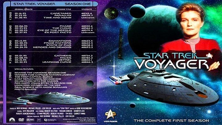 Звёздный путь. Вояджер [8 «Экс-Постфактум»] (1995) - фантастика, боевик, приключения