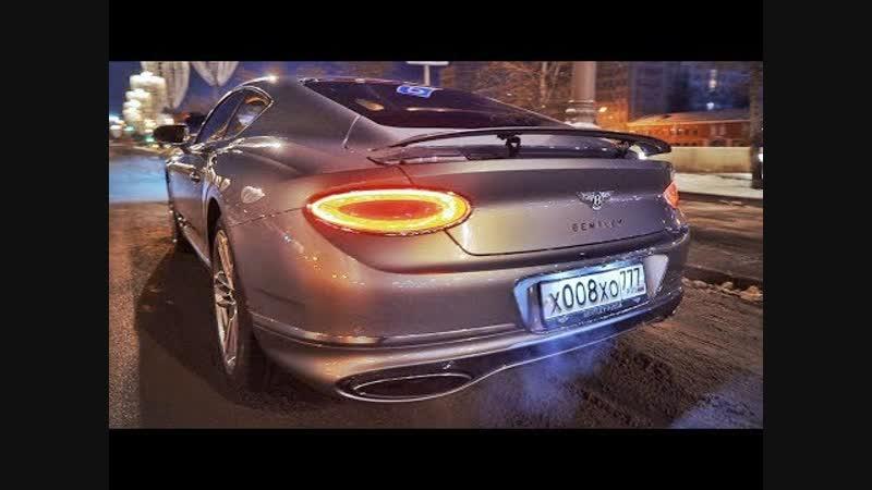 DSC OFF - Bentley Continental GT 2018