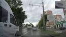 В Пензе две маршрутки устроили гонки на встречной полосе