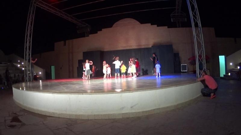 Мини Диско в отеле Египет 2018. Caribbean World Soma Bay 5*