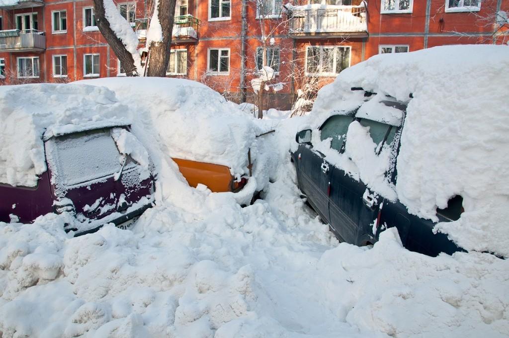 В Луганской области высота снежного покрова измеряется в 60 сантиметров