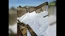 Не выдержала мокрого снега В Самаре в доме Попова на Молодогвардейской 94 рухнула крыша Неделю управляющая компания ничего не предпринимала