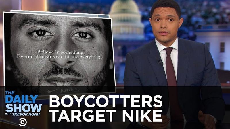 Boycott Season Hits Nike The New Yorker and Ryan Gosling The Daily Show