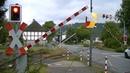 Spoorwegovergang Olsberg Bigge D Railroad crossing Bahnübergang