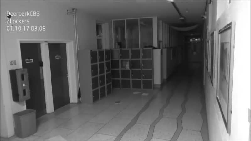'Poltergeist' wreaks havoc at historic Irish school in spine-chilling CCTV footage