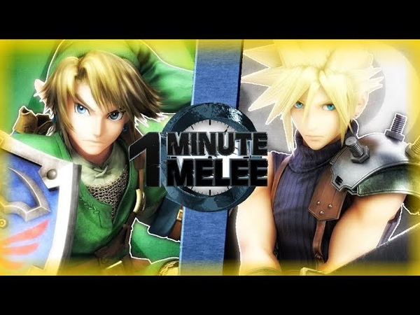 Link vs Cloud (Zelda vs Final Fantasy) One Minute Melee S6 EP8