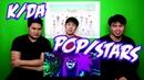 Reaction 181122 K DA POP STARS @ Reaction by Fresh Baon