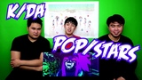 Reaction 181122 KDA - POPSTARS @ Reaction by Fresh Baon
