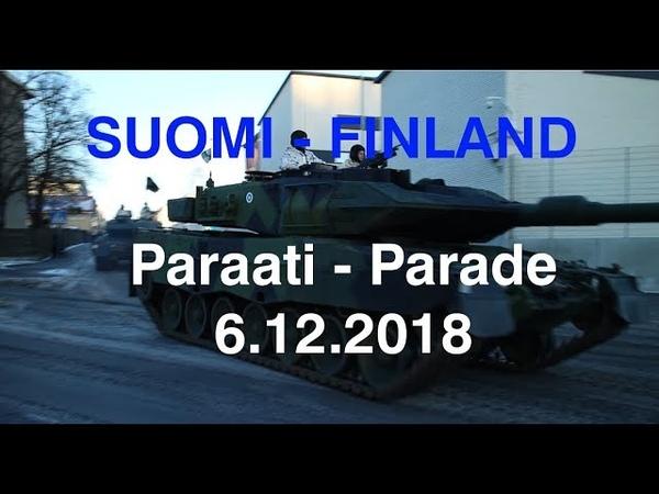 Suomen itsenäisyyspäivän paraati 2018 - National Parade on the Finnish Independence Day