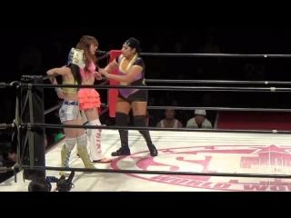 Mary Apache vs. Shiki Shibusawa vs. Starlight Kid -  Stardom Goddesses Of Stars 2017 - Tag 3
