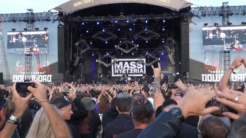 Mass Hysteria - lenfer des dieux - (Live @ Download 2018)