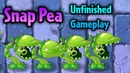 Plants vs. Zombies 2 Snap Pea Unfinished Gameplay