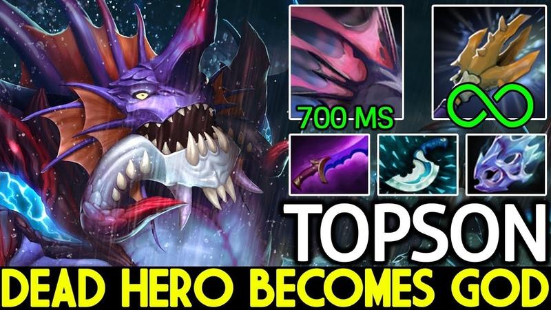 TOPSON Slardar Dead Hero Becomes God in Meta 7 20 Dota 2