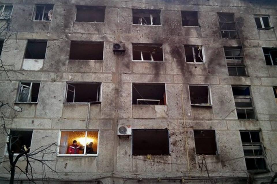 Свет в Донецком окне...