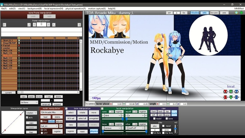 [MMD||Commission] Rockabye ||WIP1||