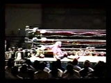 Cactus Jack vs Eddie Gilbert (Barbed Wire Match)