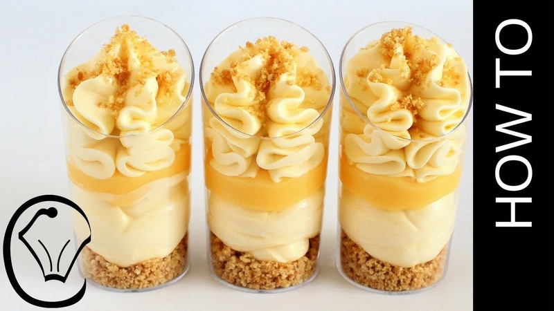 Lemon Curd Cream Cheese Mousse Dessert Cup Shooters by Cupcake Savvys Kitchen