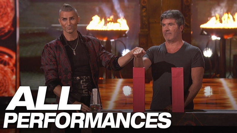 All Of Aaron Crow's Full Performances On AGT - America's Got Talent 2018