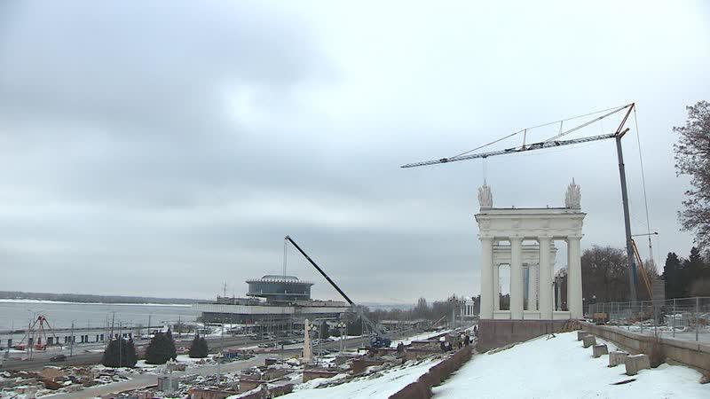 На Центральной набережной Волгограда появятся необычные арт-объекты